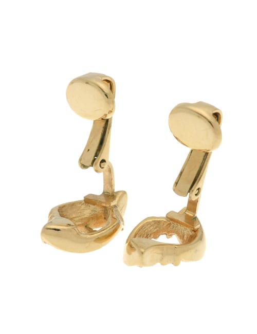 Pre-Loved Dior Rhinestone Clip-on Earrings