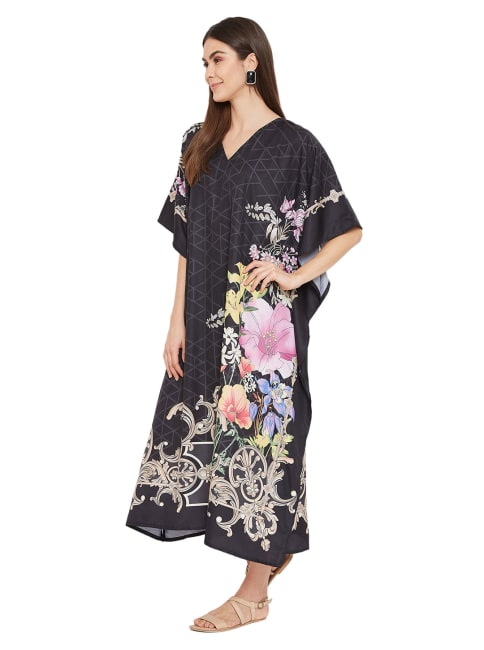 Long Kaftan Summer Maxi Dress - Plus