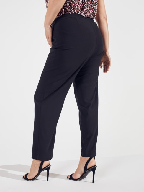 Needle & Cloth Pull On Tummy Control Pants With L Pockets -Tall Length Plus