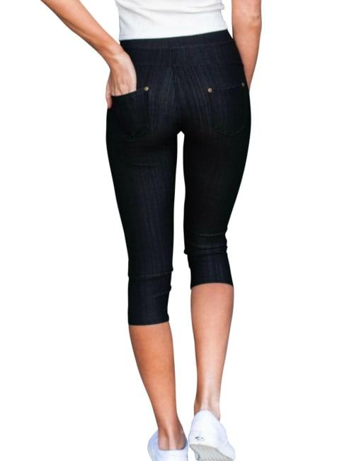 Stretchy Jeans   Capri - Plus