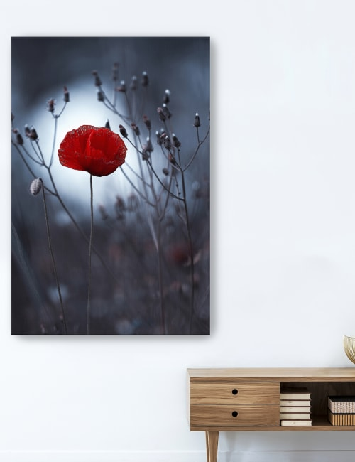 Flower Not Canvas Giclee