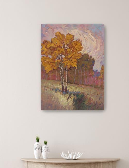 Tree Line I Canvas Giclee