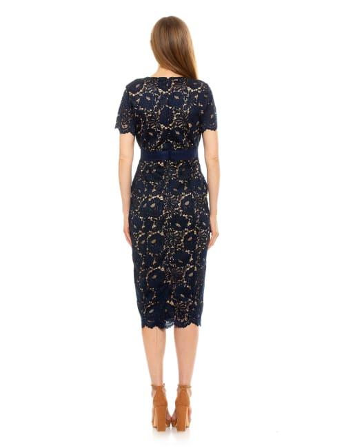 Delora Lace Sheath Dress