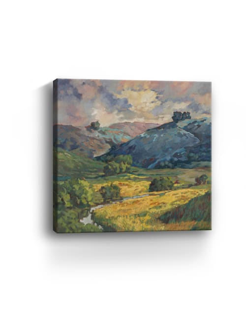 Windy Weather I Canvas Giclee
