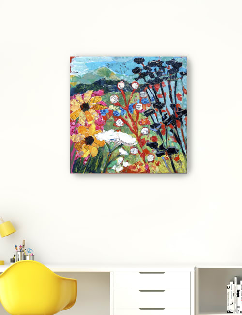 Italy Inspired Canvas Giclee