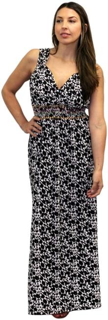 Sienna Rose V-Neck Maxi Dress