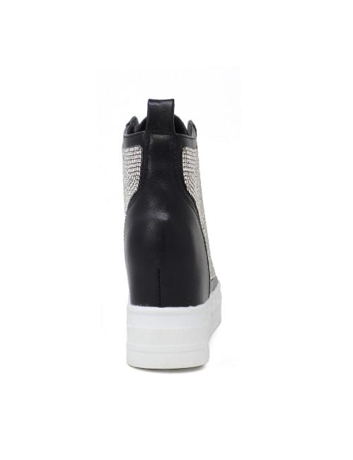 Slip On Rhinestone Studded Sneaker