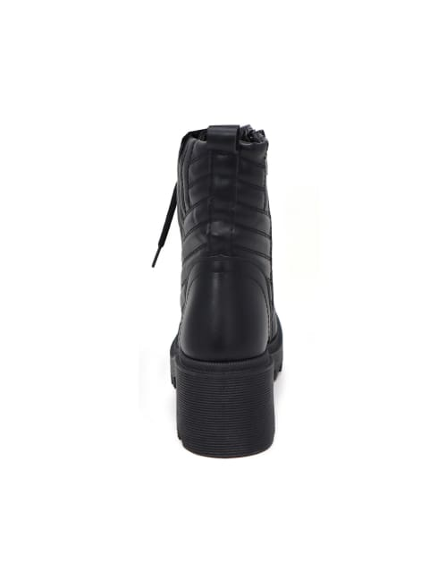 Lenny Lace Up Side Designed Ankle Bootie