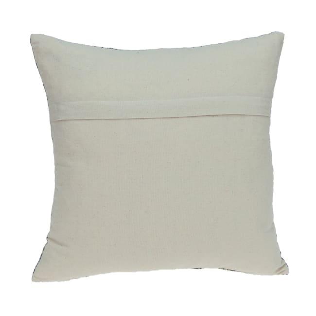 Gray Aztec Design Throw Pillow