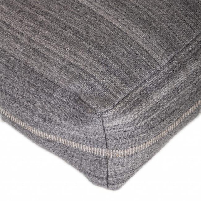 Steel Grey Stylish Pouf