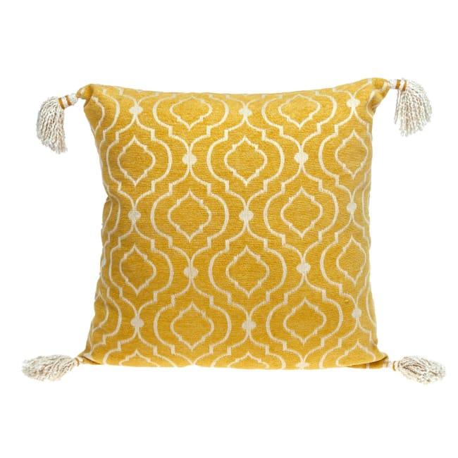 Daffodil Yellow Throw Pillow