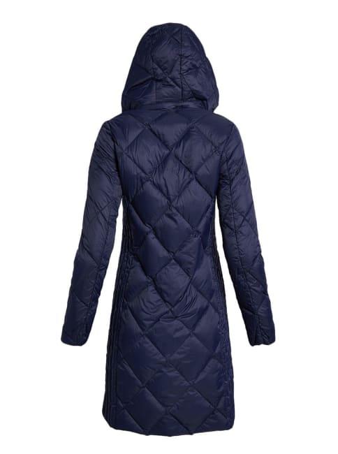 Michael Kors Full Zip Packable Hooded Jacket
