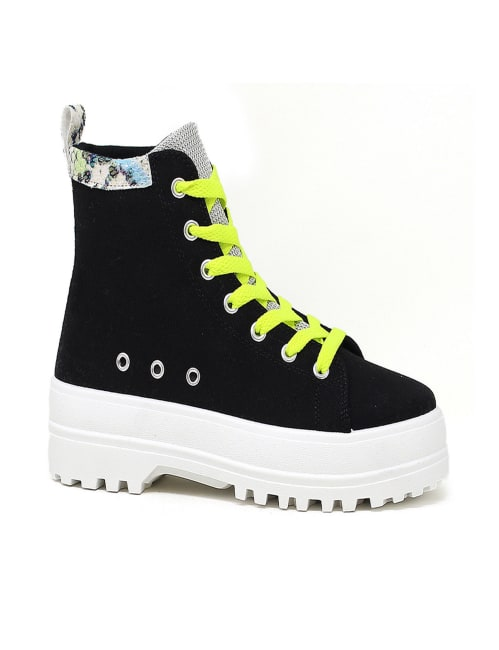 Lace Up High Top Sneaker