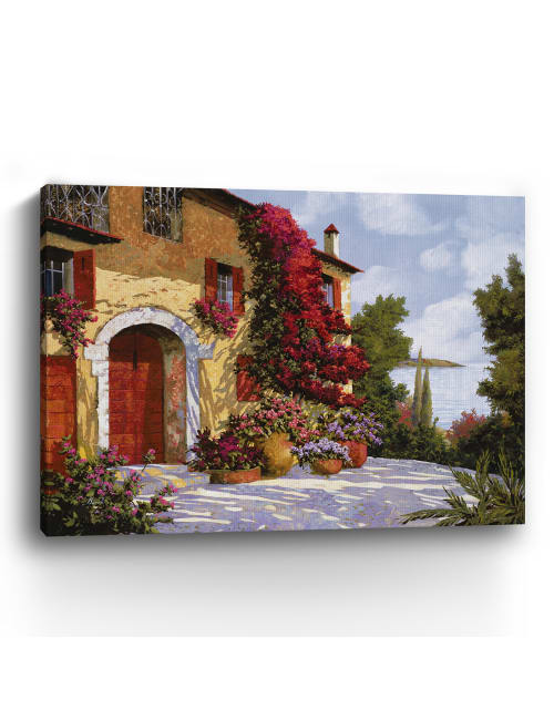 Bouganville Canvas Giclee