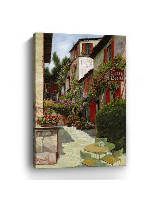 Caffe Bifo Canvas Giclee