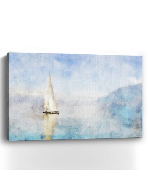 Coastal Series #14 Canvas Giclee
