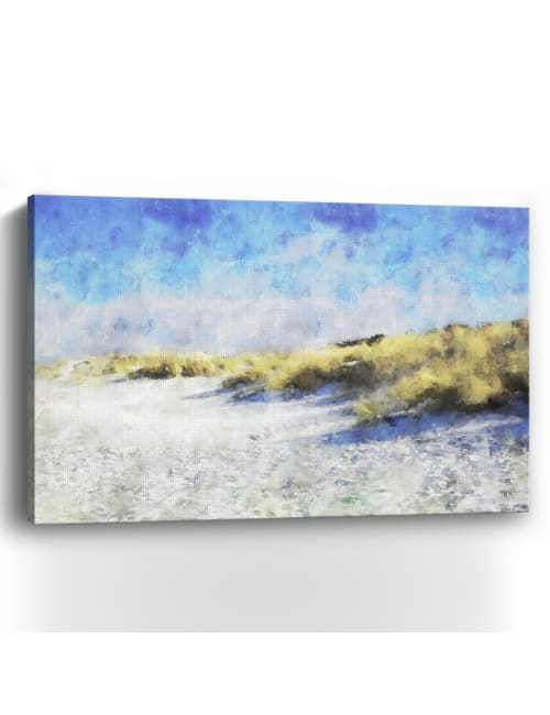 Coastal Series #20 Canvas Giclee