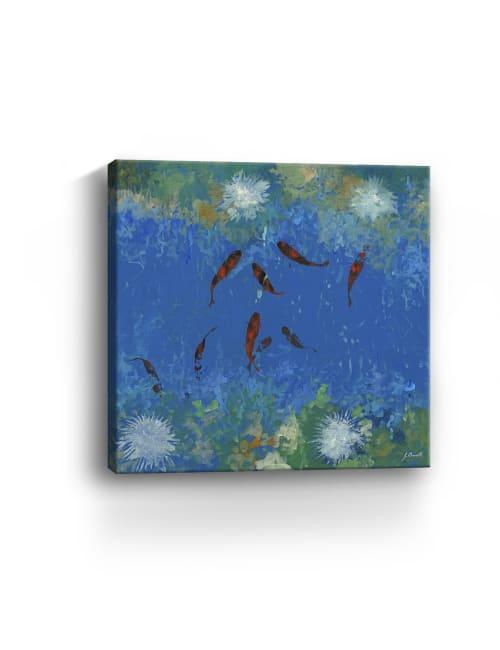 Nove Pesciolini Canvas Giclee