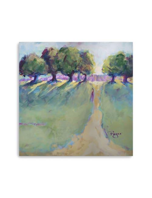 Lavender Fields Canvas Giclee