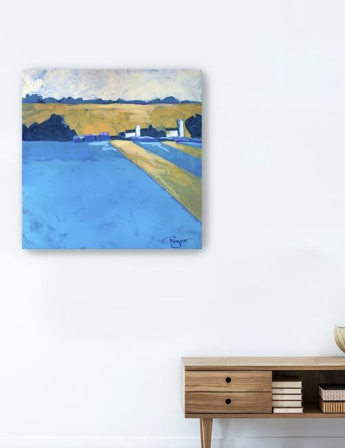 Serenity on the Farm Canvas Giclee