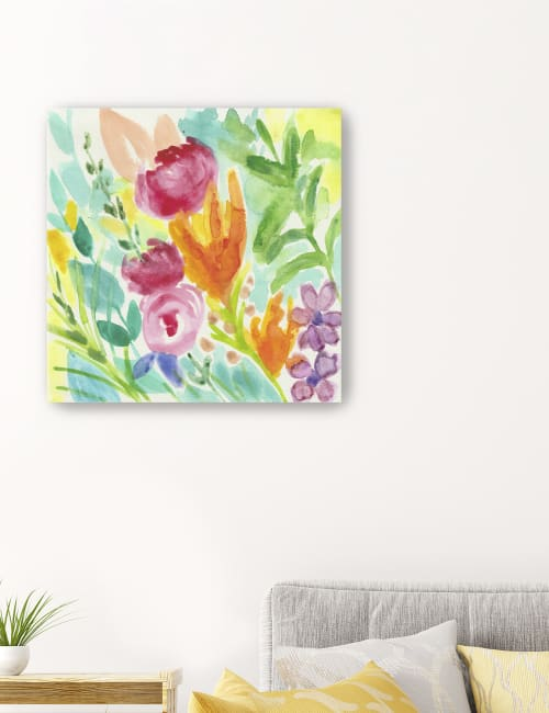 April Showers Canvas Giclee