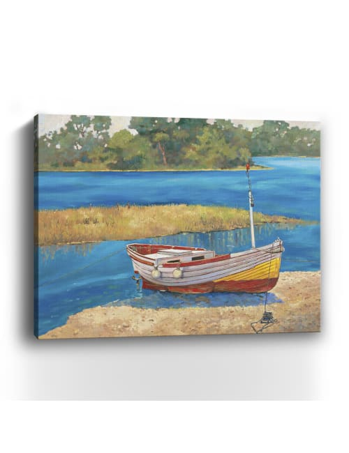 Fishing Boat II Canvas Giclee