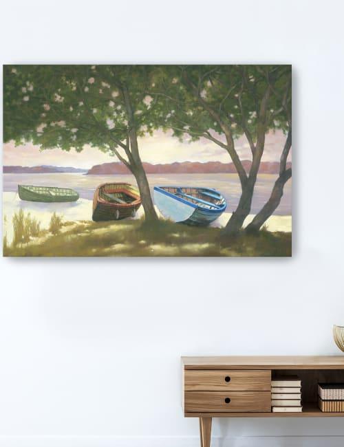 Lakeside II Canvas Giclee
