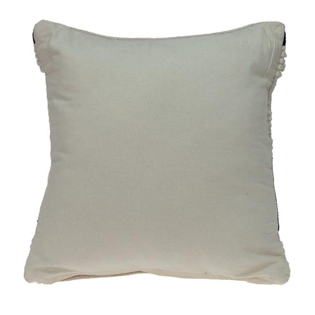 Natural Woven Bohemian Throw Pillow