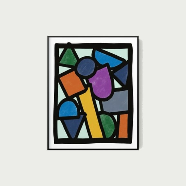 Elementary Abstract Wall Art