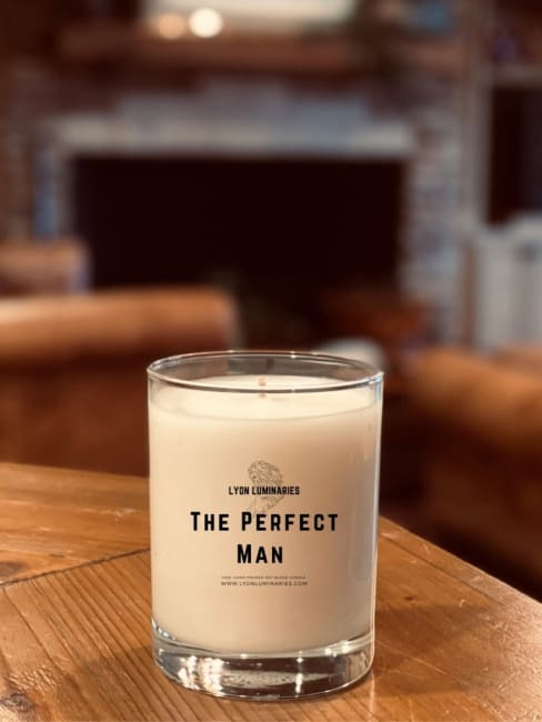 The Perfect Man Soy Blend Candle