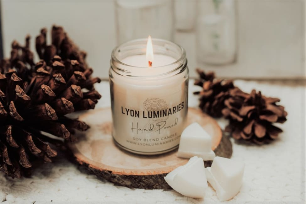 Cranberry Woods Soy Blend Candle