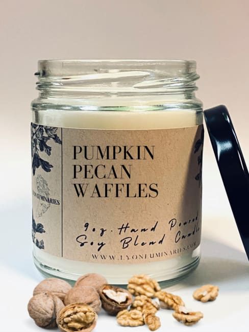 Pumpkin Pecan Waffles Soy Blend Candle