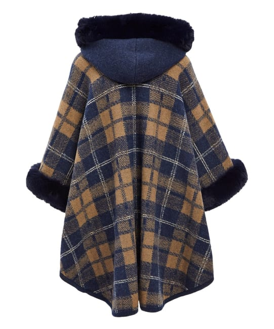 Faux Fur Winter Cape and Shawl Wrap