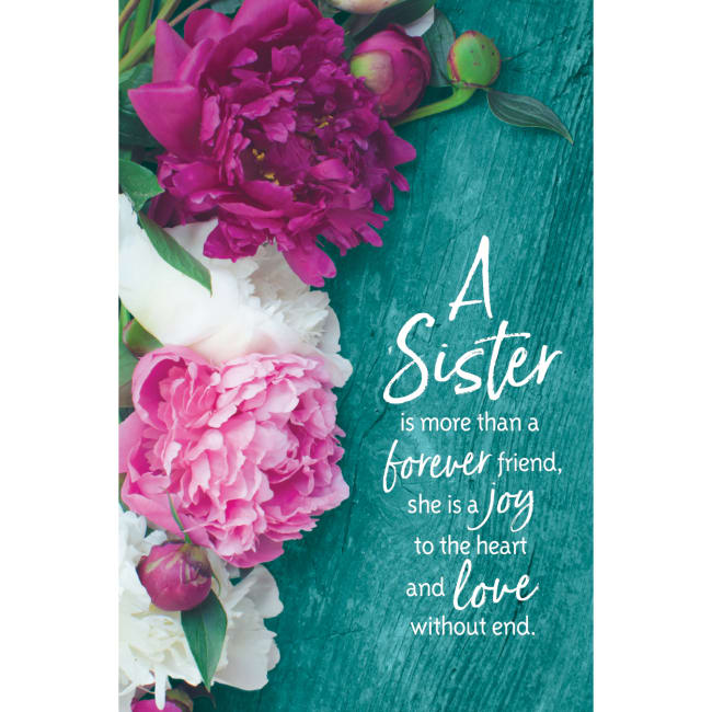 A Sister Is More Than A Forever Friend Organic Brights 6