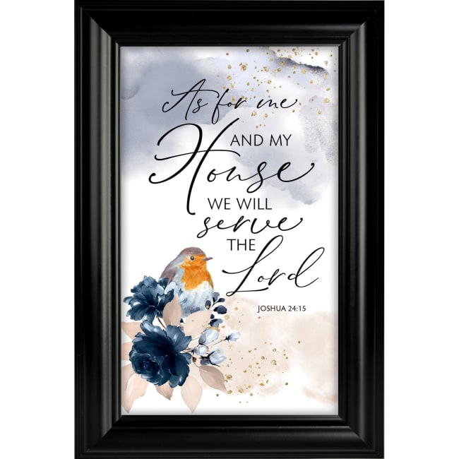 As For Me & My House Heaven Sent Plaque Frame 8