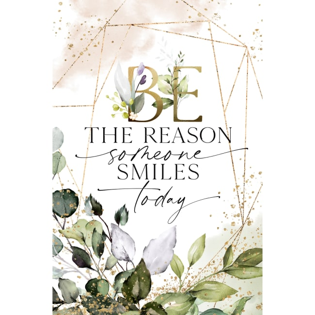 Be The Reason Wood Plaque With Easel And Hanger 6 Inches X 9 Inches