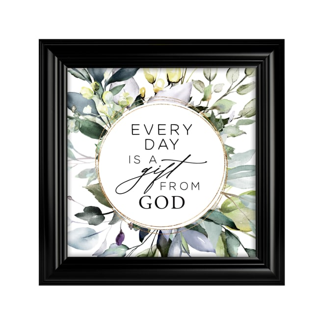 Every Day Is A Gift Heaven Sent Plaque Frame 10