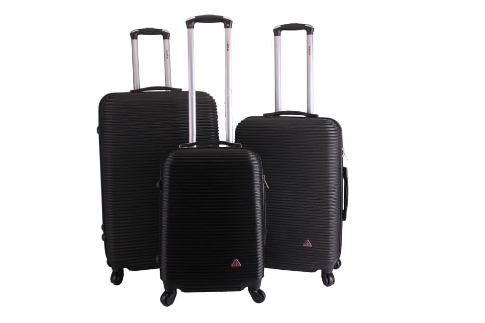 InUSA Royal Lightweight Hardside Spinner 3 Piece Luggage Set 20