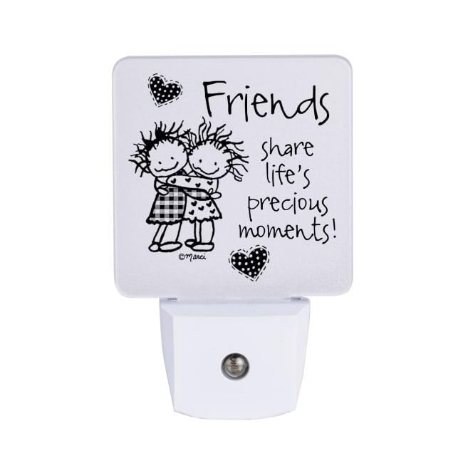 Friends Share Life's Nighlight - Marci Art