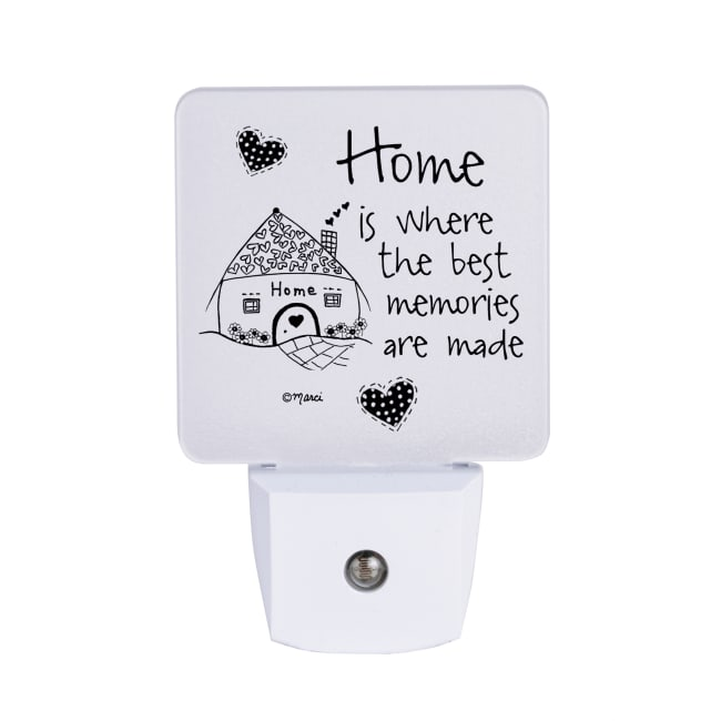 Home Is Where The Best Nighlight - Marci Art
