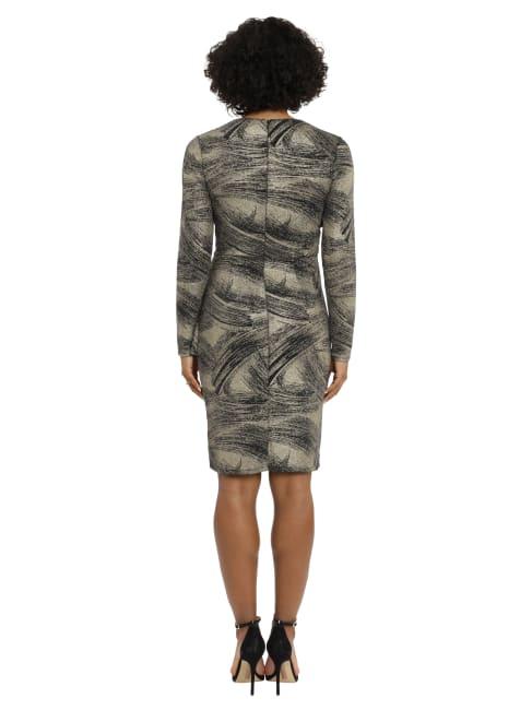 Wrap Side Ruffle Dress - Petite