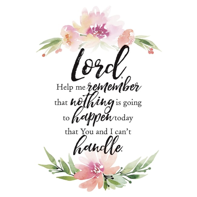 Lord, Help Me Remember Woodland Grace Series 6