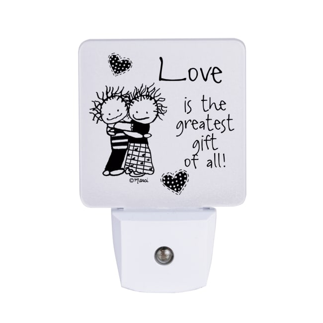 Love Is The Greatest Gift Nighlight - Marci Art