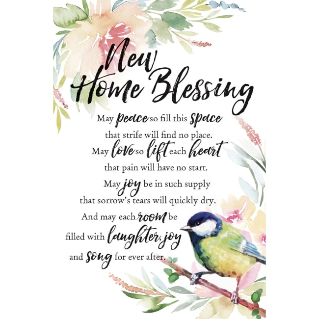New Home Blessing Woodland Grace Series 6