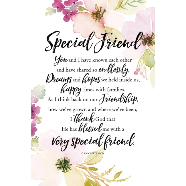 Special Friend Woodland Grace Series 6