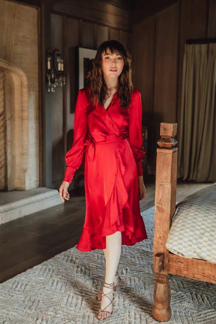 Sukiso Women's Sylvia Wrap Dress