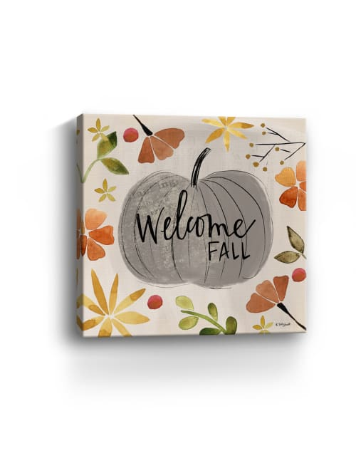 Welcome Fall Canvas Giclee