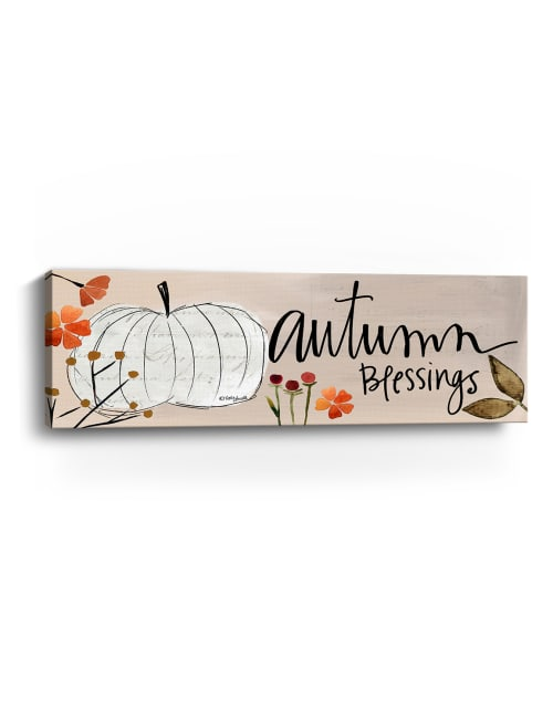 Autumn Blessings Canvas Giclee