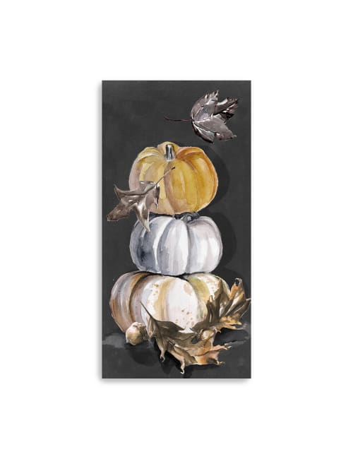 Harvest Pumpkins Collection Canvas Giclee