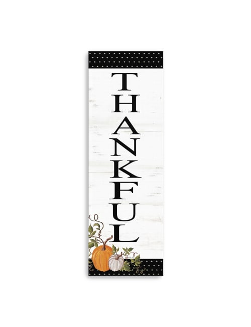Thankful Sign Canvas Giclee